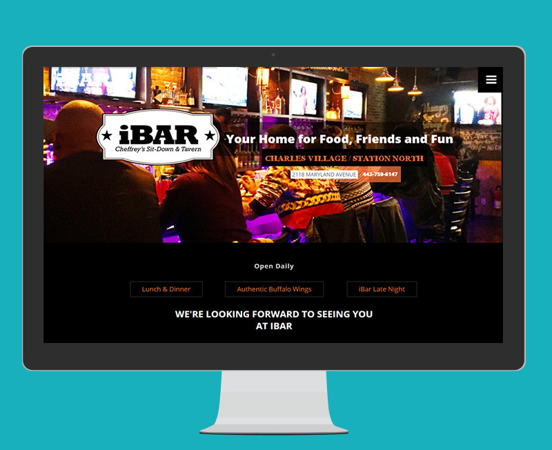 iBar: Identity, Collateral & Website